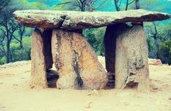 Dolmen de Pedra Gentil Stock Images