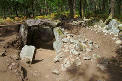 Dolmen de Portelagem Esposende, Portugal Photo stock