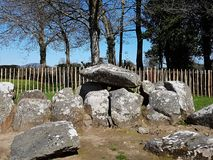 Dolmen de Proleek, Co Louth, Irlande image stock