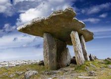 Dolmen di Poulnabrone Fotografia Stock