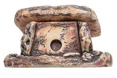 Dolmen- eller portaltomb, grav Arkivfoto
