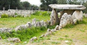 Dolmen förhistoriska Bisceglie Royaltyfri Bild