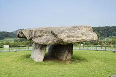 Dolmen in ganghwa island Royalty Free Stock Photography