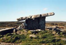 Dolmen irlandés foto de archivo