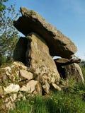 dolmen kilmogue Στοκ Φωτογραφίες