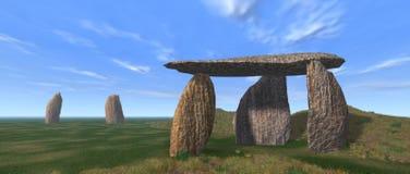 Dolmen Landscape Stock Photography