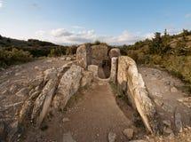 Dolmen of Mina de Farangortea Stock Image