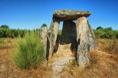 Dolmen Pedra DA Orca em Gouveia Στοκ Φωτογραφίες