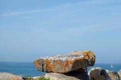 Dolmen on Pointe du Percho in Quiberon, Brittany
