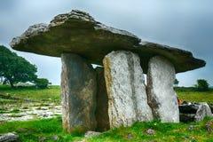 Dolmen, Poulnabrone, Ireland Royalty Free Stock Photos