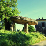 Dolmen, Provence, France Royalty Free Stock Photos