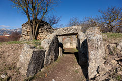 Dolmen of San Martin Stock Photo