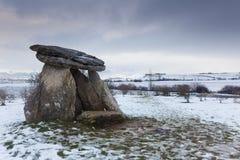 Dolmen of Sorginetxe Stock Images