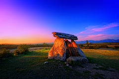Dolmen of Sorginetxe Stock Photos