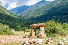 Dolmen in the Spanish Pyrenees Stock Photos