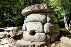 Dolmens βόρειου Καύκασου Στοκ Φωτογραφίες