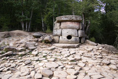 Dolmens. Historical and spiritual place. Royalty Free Stock Images