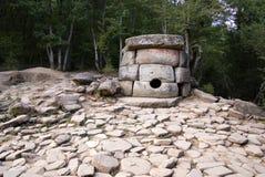 Dolmens. Place historique et spirituelle. Images libres de droits
