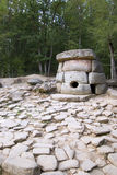 Dolmens. Vor gebildet vom Stein 5000 Jahren. Stockfotografie