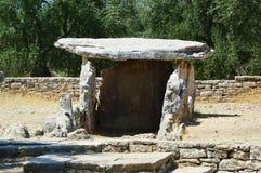 Dolmenu della Chianca w Bisceglie miasteczku, Apulia, Włochy obrazy royalty free