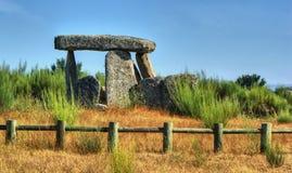 Dolmenu Pedra da orki em Gouveia Fotografia Stock