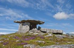 dolmenu poulnabrone Zdjęcia Stock