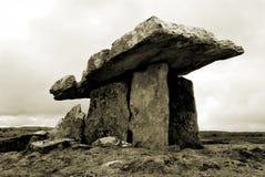 dolmenu poulnabrone sepiowy Zdjęcia Stock