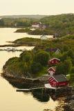 Dolmoy, Hitra - Noruega fotografia de stock