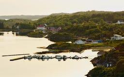 Dolmoy, Hitra - Norvegia fotografia stock
