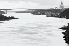 Dolmoy, Hitra - Norwegen lizenzfreie stockbilder