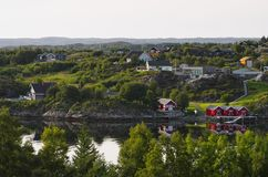 Dolmoy,Hitra - Norway royalty free stock images