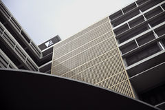 Dolnego widoku stary budynek Obraz Royalty Free