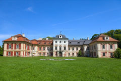 Dolni Lukavice castle in the Czech Republic Royalty Free Stock Photos