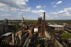 Dolni Vitkovice, Ostrava imagem de stock