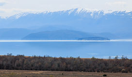Dolno Dupeni in Macedonia, Prespa Lake, near Greece border Royalty Free Stock Image