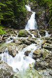 Dolny Nefcersky waterfall Royalty Free Stock Photos