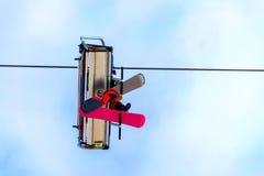 Dolny widok funicular zdjęcie stock