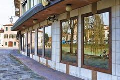 Dolo, Venezia. Dolo, Venice, Italy: Along Brenta River royalty free stock images