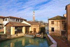 Dolo, Venezia. Dolo, Venice, Italy: Along Brenta River stock photos