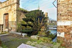 Dolo, Venezia. Dolo, Venice, Italy: Along Brenta River royalty free stock photos