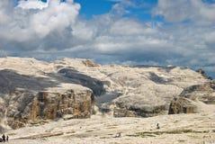 Dolomías gigantes Fotografía de archivo libre de regalías