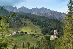 Dolomías, Italia Imagenes de archivo