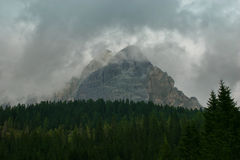 Dolomías, Italia Imagen de archivo
