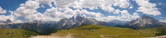 Dolomías, paisaje - Italia Fotografía de archivo libre de regalías