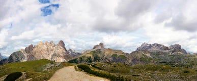 Dolomías, paisaje - Italia Imágenes de archivo libres de regalías