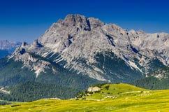 Dolomia, alpi, Italia Fotografia Stock