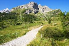 Dolomia, alpi italiane Fotografia Stock Libera da Diritti