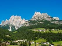 Dolomia dell'Italia Fotografia Stock