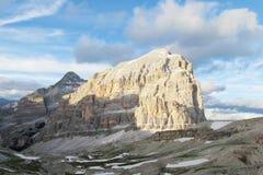 Dolomia delle montagne delle alpi Immagini Stock Libere da Diritti