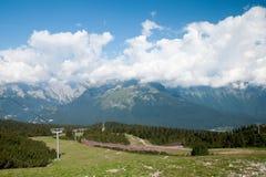 Dolomia di Trentino in Italia fotografia stock libera da diritti